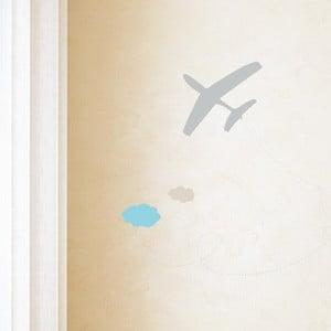 Vinylová samolepka Avion Gris