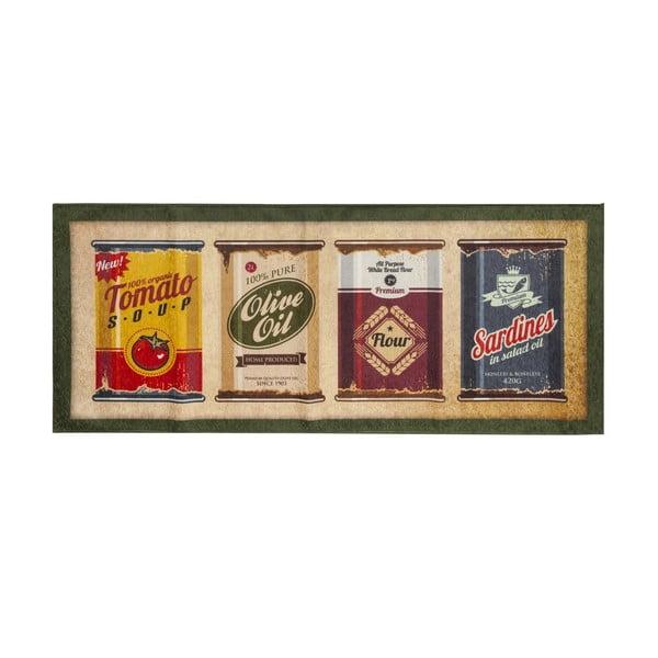 Vysoce odolný kuchyňský koberec Webtappeti Caddy, 60x220 cm