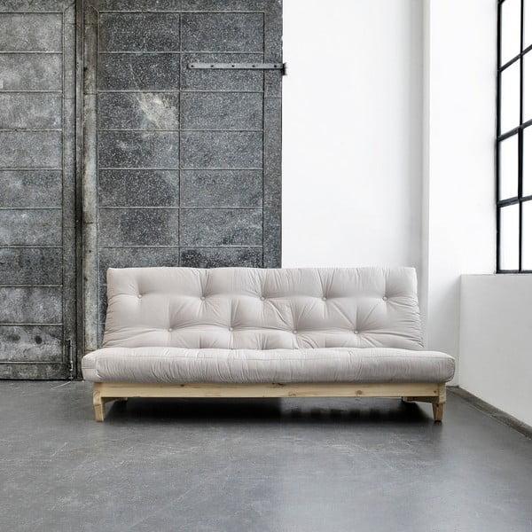 Canapea extensibilă Karup Fresh Natural/Vision