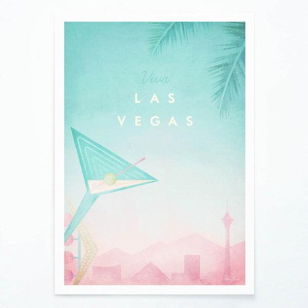 Plakát Travelposter Las Vegas, A2