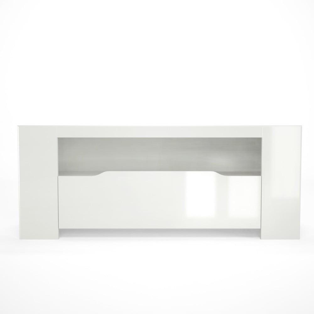 Bílý TV stolek Artemob Orlando