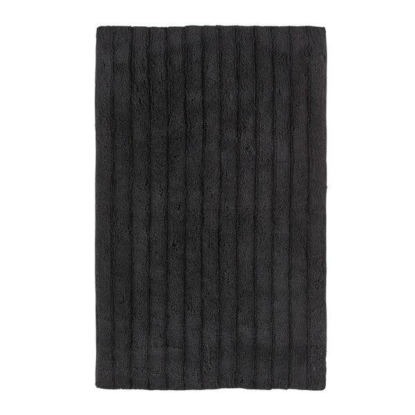 One fekete fürdőszobai kilépő, 50 x 80 cm - Zone