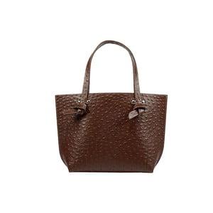 Kožená kabelka Betta Dark Brown