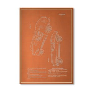 Plakát Automobile III, 30x42 cm