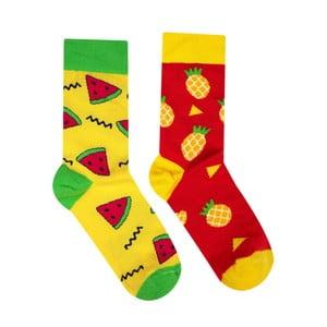 Bavlněné ponožky HestySocks Tropical, vel. 39-42