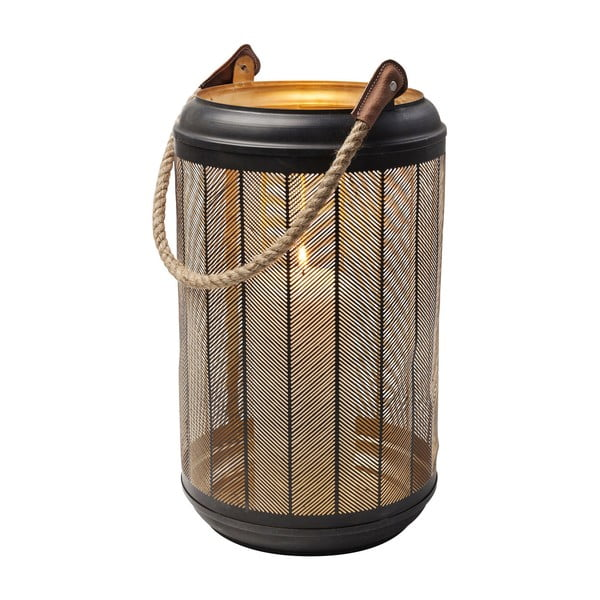 Set 3 felinare decorative Kare Design Lantern Line Rope