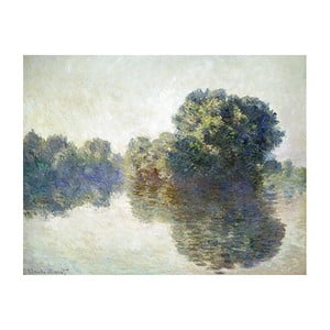 Obraz Claude Monet - The Seine at Giverny, 50x40 cm