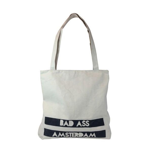 Plátěná taška Bad Ass Amsterdam