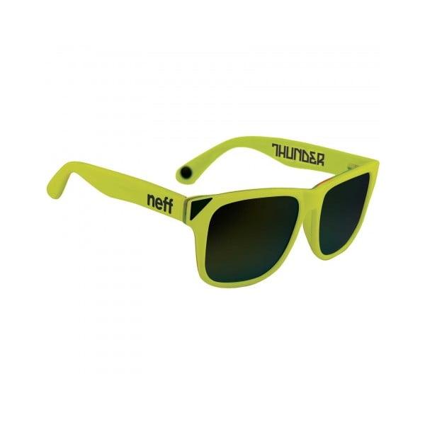 Sluneční brýle Neff Thundre Neon Yellow