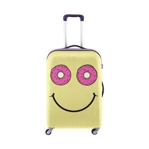 Obal na kufr s motivem smajílka Oyo Concept, 76 x 49 cm