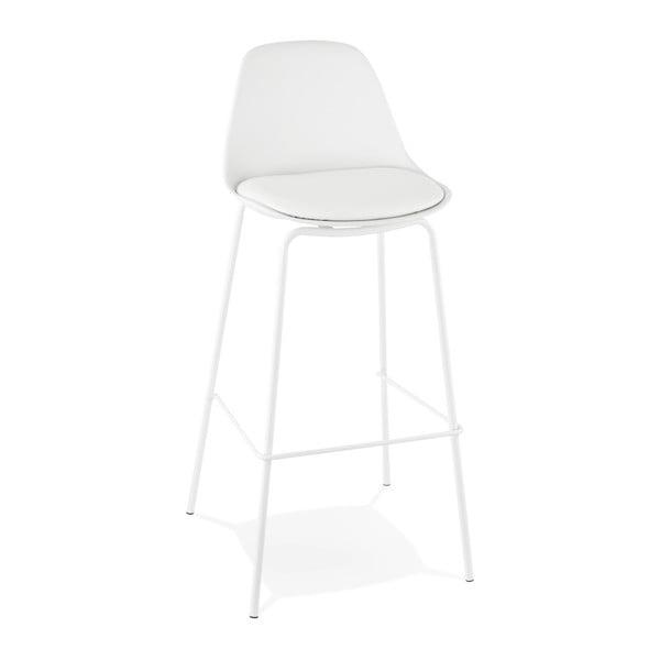 Bílá barová židle Kokoon Escal