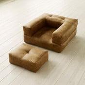 Fotoliu modular Karup Cube Cognac
