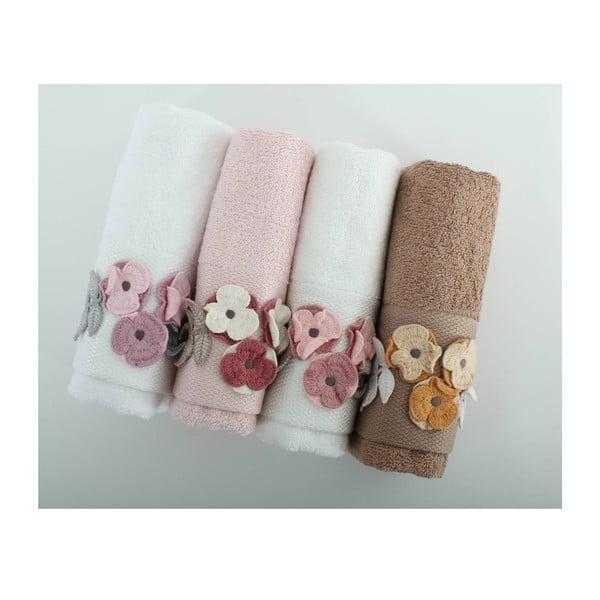 Sada 4 ručníků Menekse, 50x90 cm