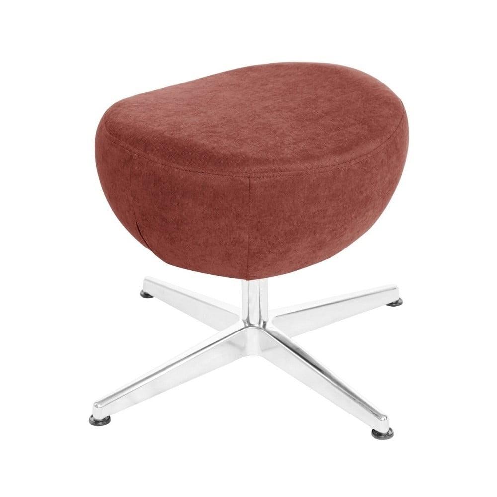 Broskvově oranžová otočná stolička/podnožka My Pop Design Vostell