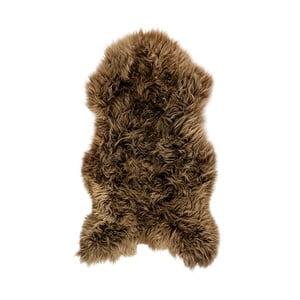 Hnědá ovčí kožešina Arctic Fur Swedo, 110x60cm
