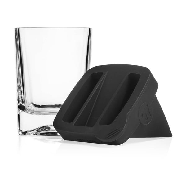 Sklenice na whiskey s formou na led Corkcicle Whiskey Wedge