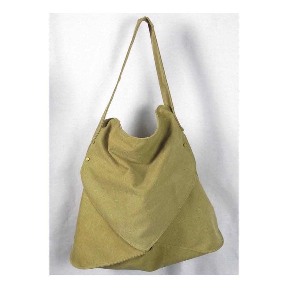 Khaki zelená plátěná taška Sorela Satha