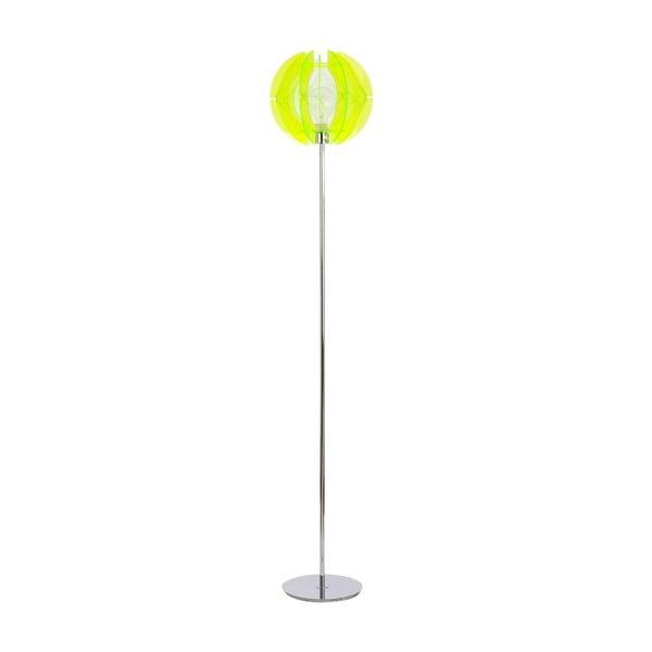 Stojací lampa Wire Floor, zelená