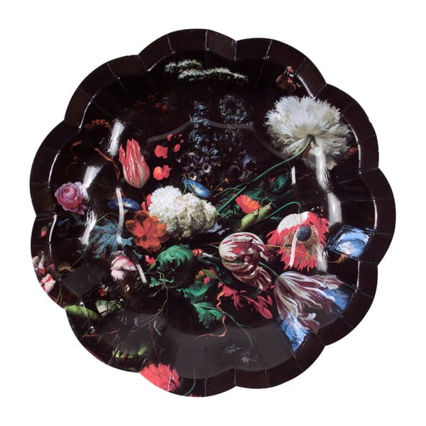 Sada 12 papírových talířů Talking Tables Baroque