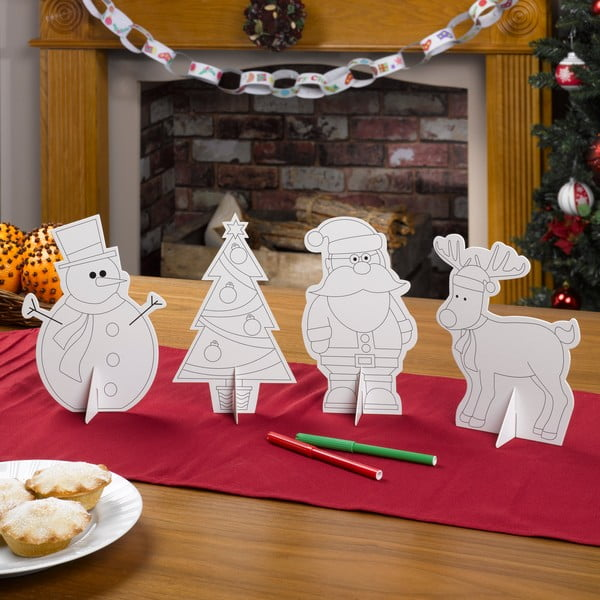 Ornamente din hârtie pentru masă Neviti Christams Craft