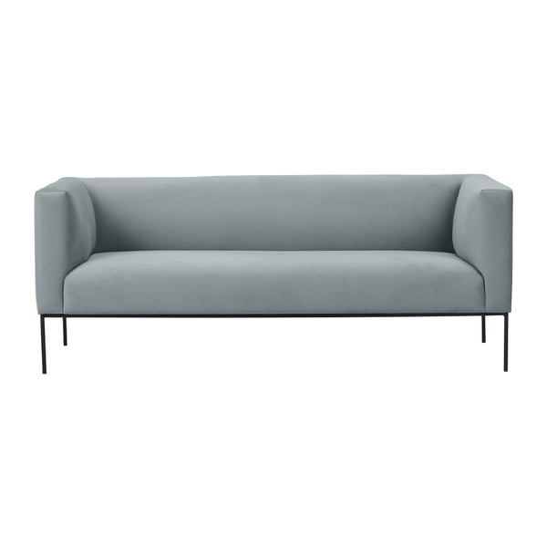 Canapea Windsor & Co Sofas Neptune, 195 cm, gri deschis