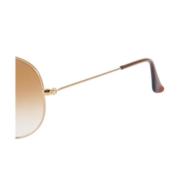 Sluneční brýle Ray-Ban Aviator Caramel Gold