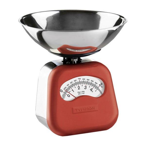 Kuchyňská váha Novo Scales, červená
