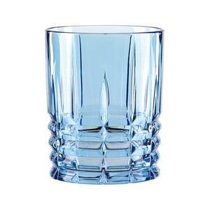 Modrá sklenice na whisky z křišťálového skla Nachtmann Highland, 345ml