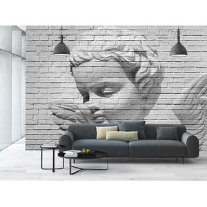 Velkoformátová tapeta Angel Brick Wall, 366x254 cm