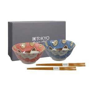 Set 2 boluri cu bețișoare chinezești Tokyo Design Studio Moto