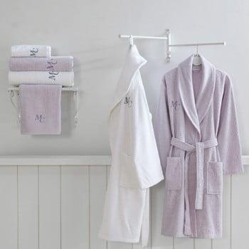 Set 2 halate de baie și 4 prosoape Marie Claire Olive