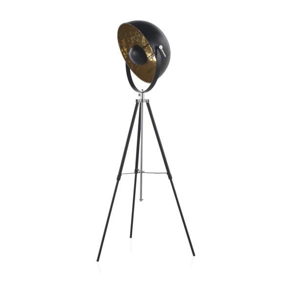 Czarna lampa stołowa na trzech nogach Geese, wys. 1,6 m