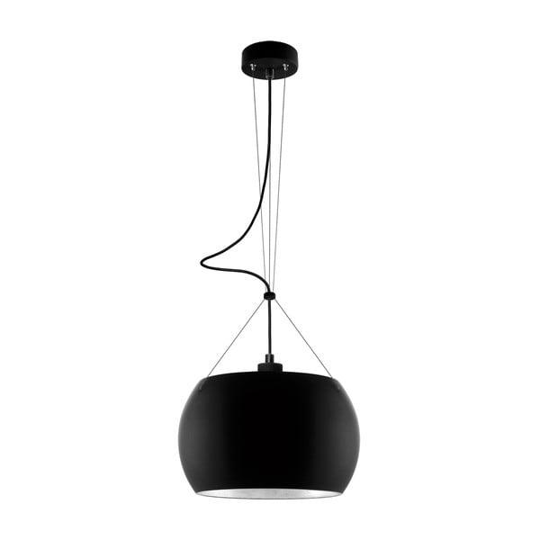 Světlo MOMO, black matte silver/black