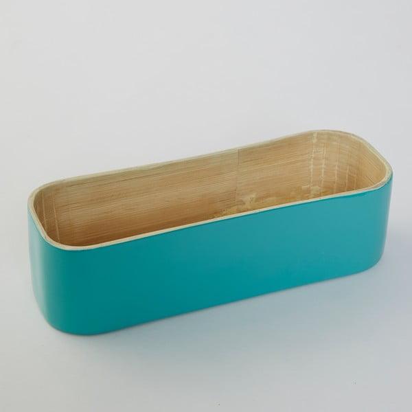 Bambusový box na příbory Tyrkys Bamboo