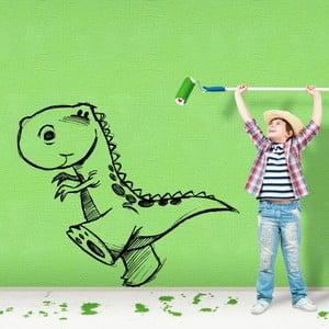 Samolepka Dino zprava, 100x83 cm