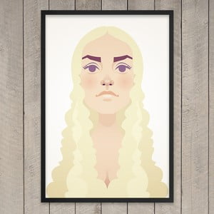 Plakát The mother of dragons, 29,7x42 cm