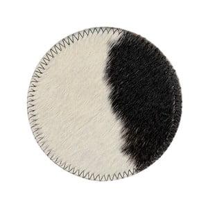 Podtácek z hovězí kůže Tira, 11 x 11 cm
