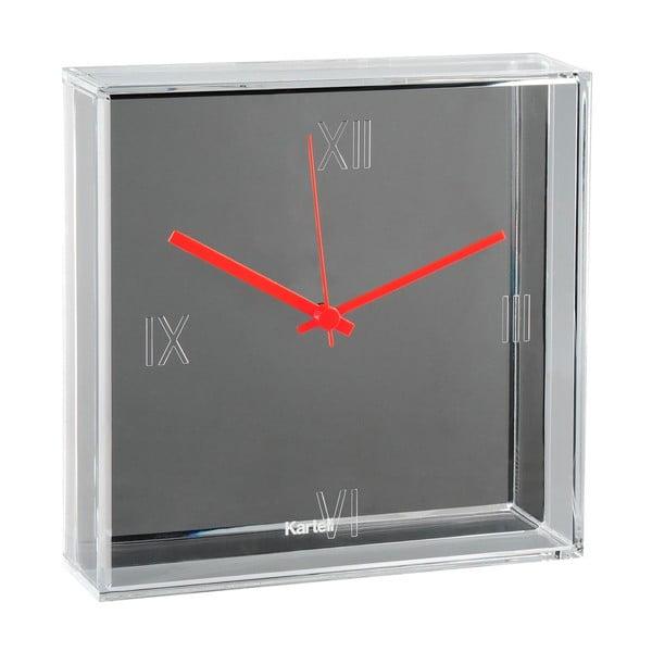 Šedé nástěnné hodiny Kartell Tic Tac