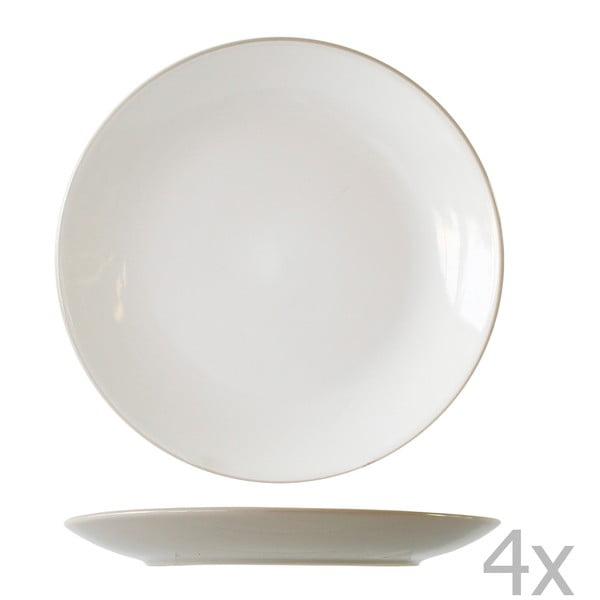 Sada 4 talířů Vince, 27 cm