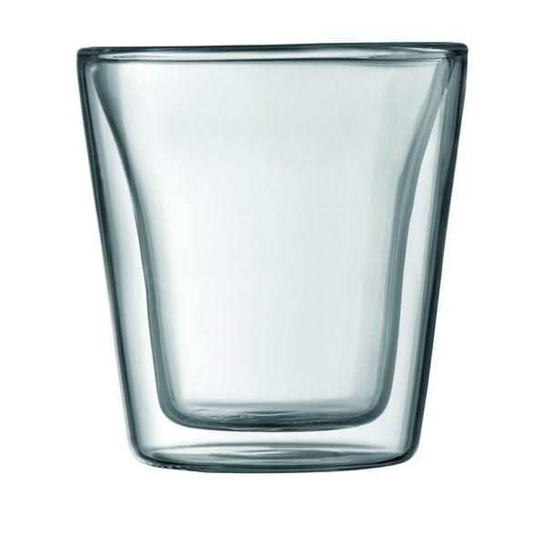 Sada 2 dvoustěnných sklenic Canteen
