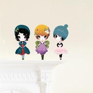 Znovu snímatelná samolepka Chocovenyl Dress Up 3 Dolls