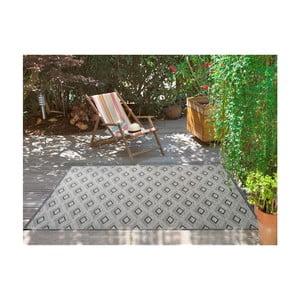 Šedý koberec vhodný i na ven Universal Weave Kasso, 155 x 230 cm