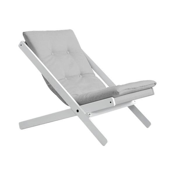 Boogie White/Light Grey összecsukható fotel - Karup Design