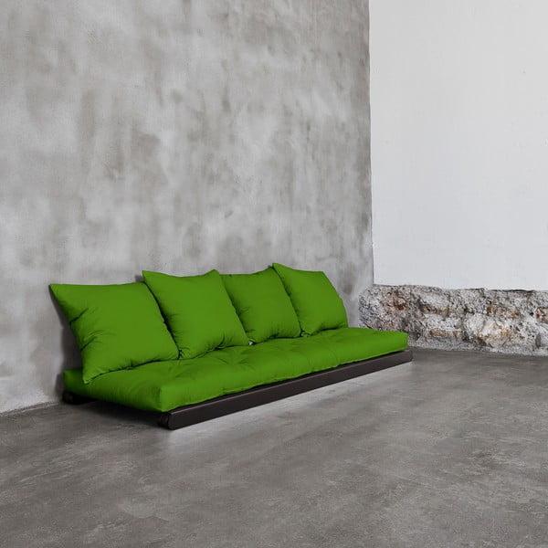 Lenoška Karup Figo Wenge/Lime, 70 cm