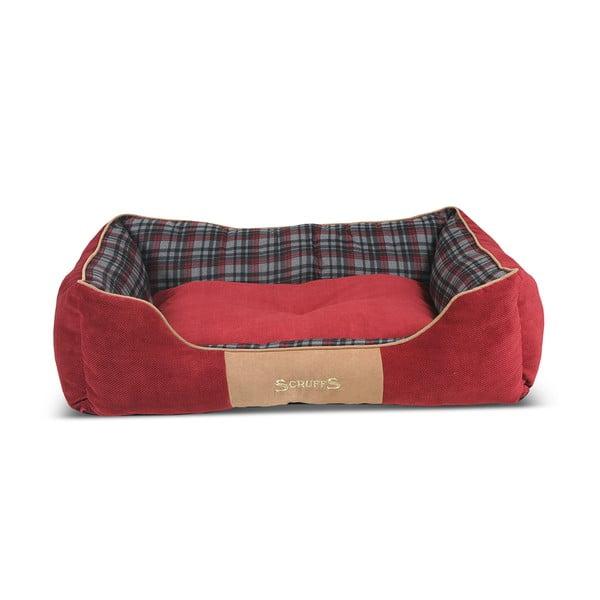 Psí pelíšek Highland Bed 90x70 cm, červený