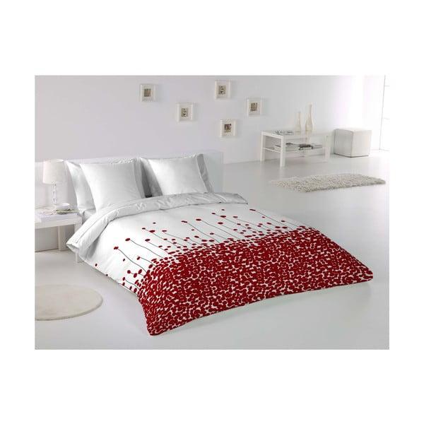 Povlečení Poppies Rojo, 200x200 cm