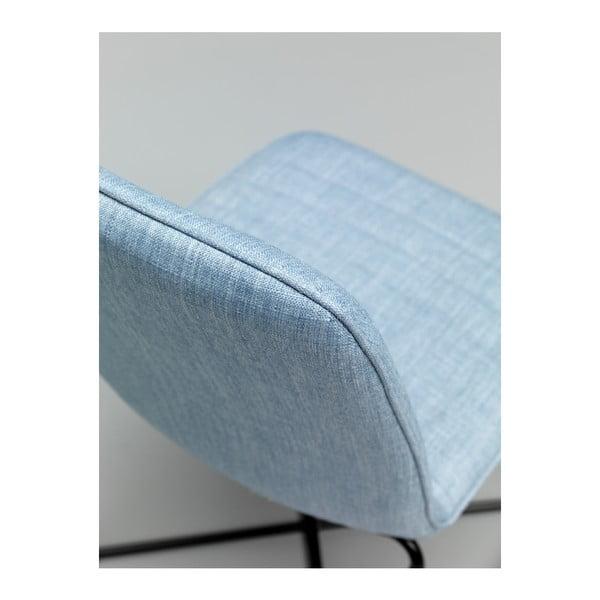 Sada 4 modrých židlí Design Twist Ibiza