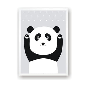 Poster  Nord & Co Snow Panda, 21 x 29 cm