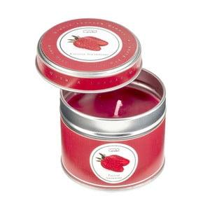 Aroma svíčka v plechovce Copenhagen Candles  English Strawberry, doba hoření 32 hodin