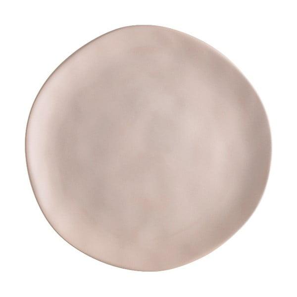 Béžový porcelánový talíř na pizzu Brandani Pizza, ⌀20cm